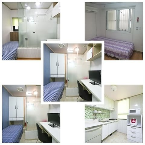 Herbhouse (5min for Sinchon Station) 1st room