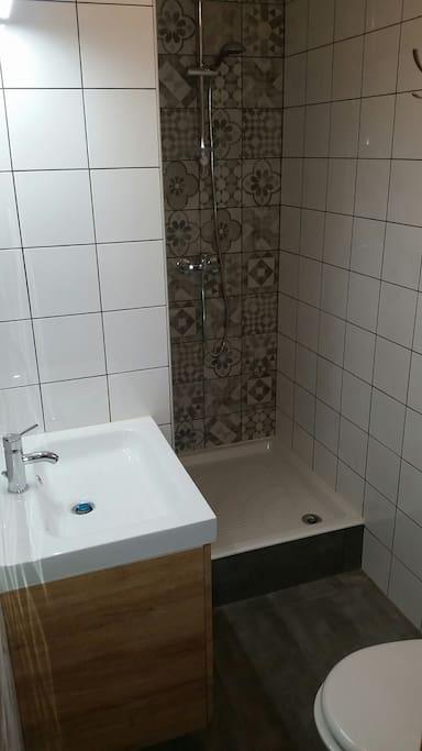 Salle d'eau+wc