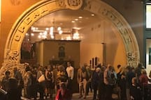 take in one of the many events at the Grand Opera House on our Street