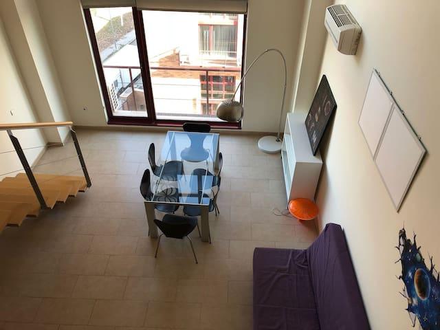 Moderno Loft para 4 personas cerca de IFEMA