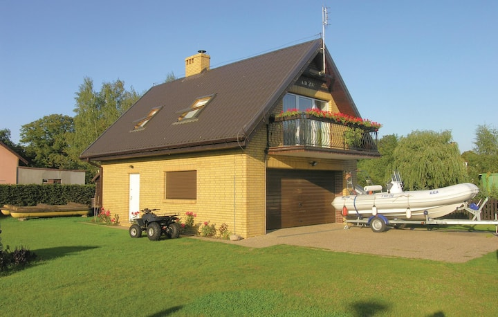 Nice home in Nowe Warpno with WiFi and 0 Bedrooms