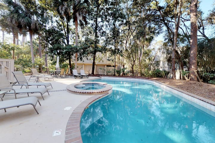 Beach living at its finest, with private pool, full kitchen, free WiFi and more!