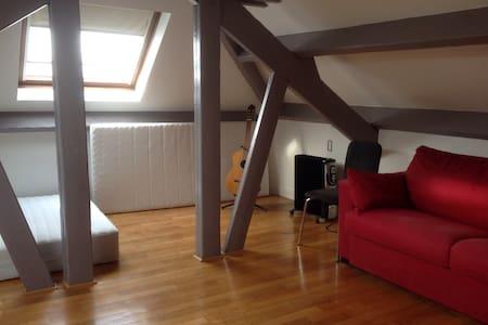 Grande chambre privée dans une grande maison - Colombes - Hus
