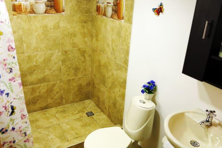 New private bathroom