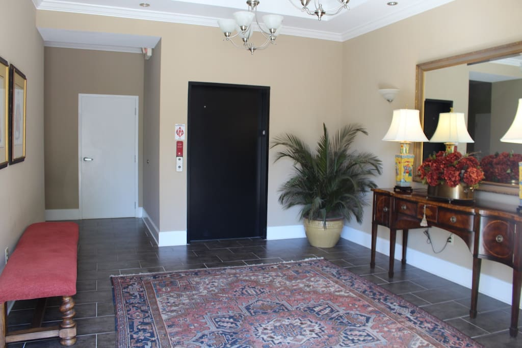 Main Lobby on Ground Floor - Elevator to 2nd Level Home