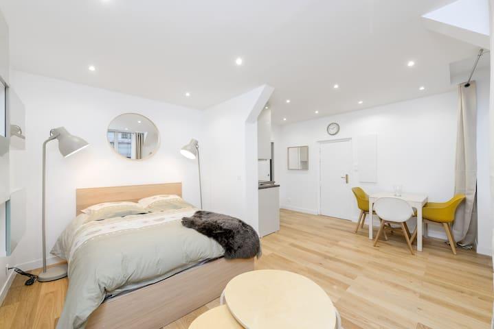 Dreamy and charming studio near Paris-Vincennes ☀