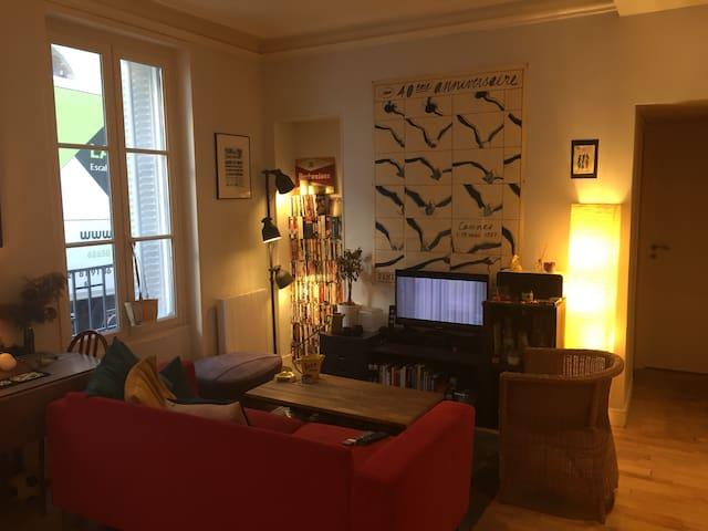 Appartement cosy à partager Paris centre
