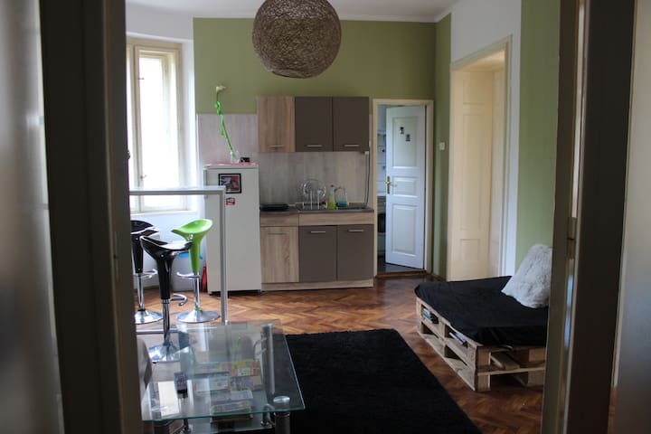 Balkan Apartment (2 Bedrooms w/ Balcony in Center)
