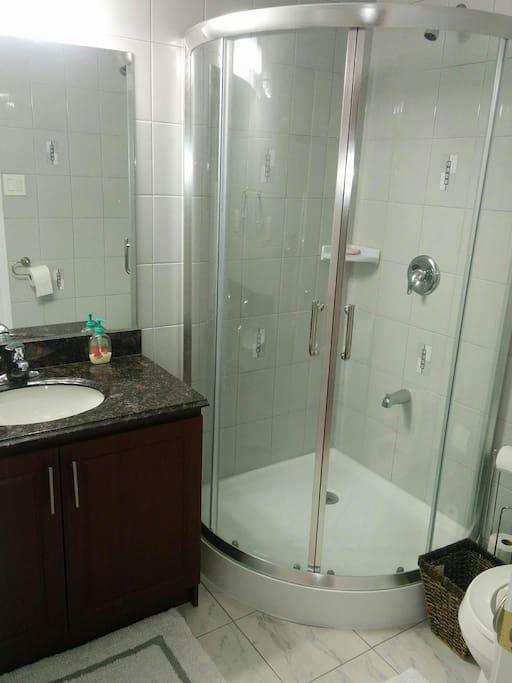 Washroom is bigger in real life