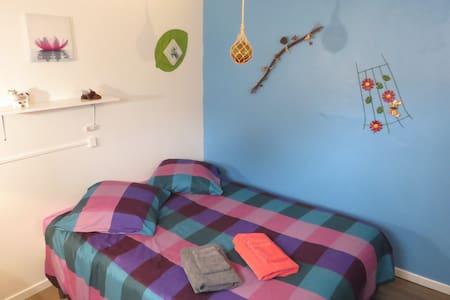 Bedroom Blue Royan (17) & Breakfast Free - 罗扬(Royan) - 独立屋