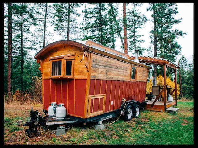 Red Gypsy Wagon