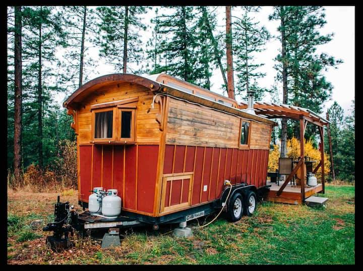 Red Gypsy Wagon