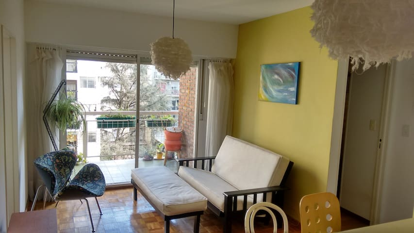 Beautiful apart in Belgrano, light,balcony&plants! - Belgrano - Apartament