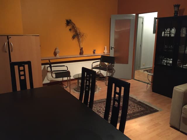 Cosy Apartment 100 m from metro (Tomberg).