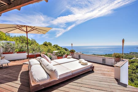 Breathtaking sea view apartment - Costa d'en Blanes - Daire