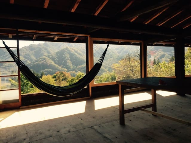 Old-japanese style house with superb view - Higashiagatsuma-machi - Penzion (B&B)