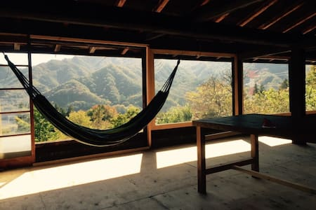 Old-japanese style house with superb view - Higashiagatsuma-machi - Bed & Breakfast