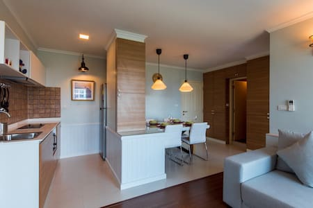 2BR Nice and cozy apartment Hua Hin - Apartamento