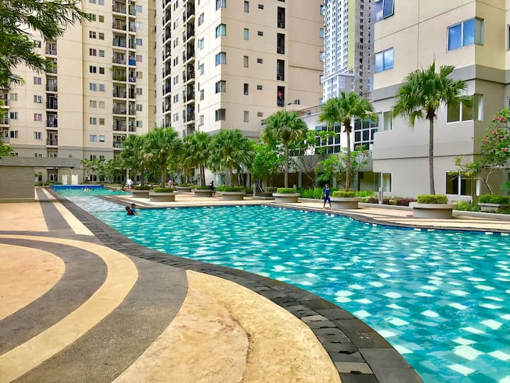 Private Living In Maplepark Jakarta Near Jiexpo Apartments For Rent In Jakarta Daerah Khusus Ibukota Jakarta Indonesia
