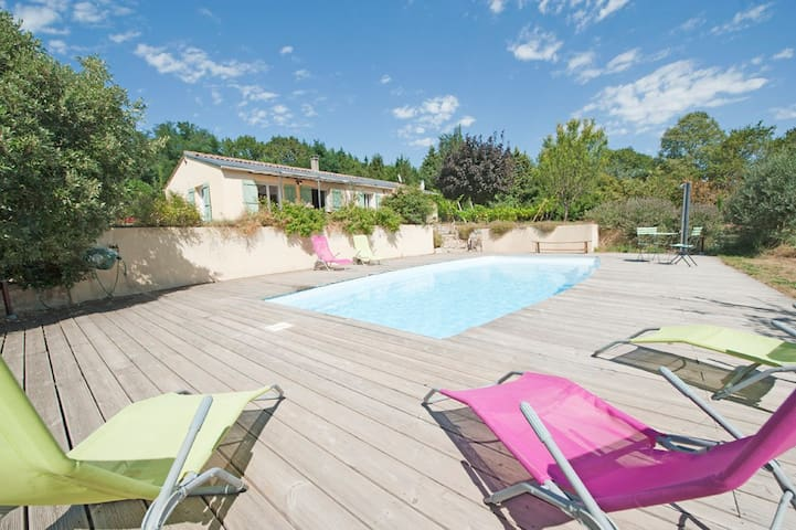 Borie Grande - Villa 4* - SPA - piscine -  WIFI - - Saint-Denis - Willa