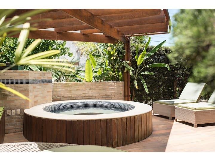 Bertioga - Casa condomínio Hanga Roa