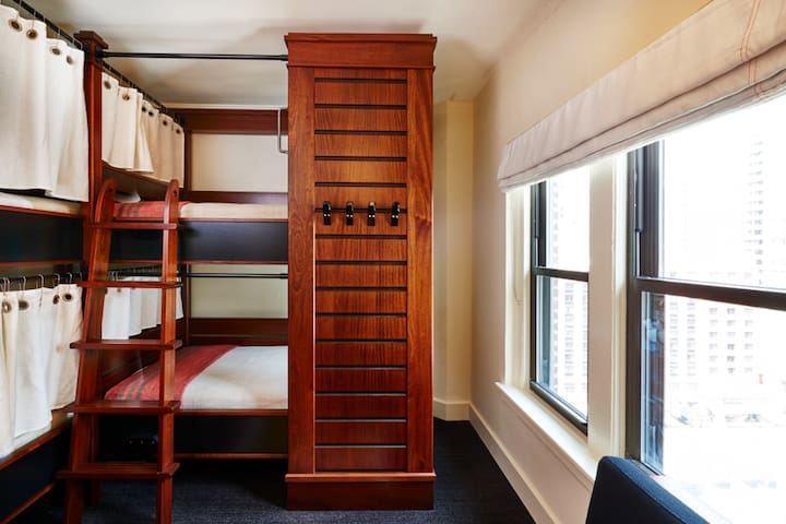 Hostel prices, Hotel services: Dorm near Mag Mile