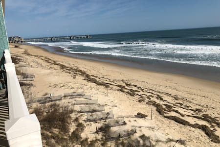 Newly Listed Updated Beachfront Condo in Nags Head