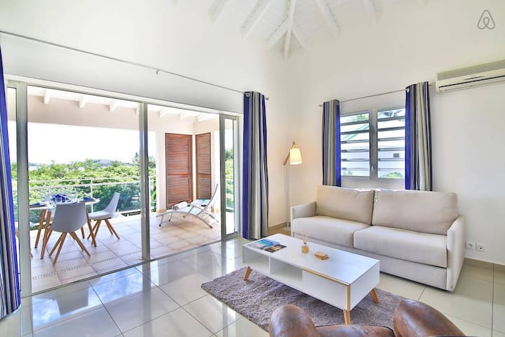 Cosy 1 Bedroom close to Pinel Island and beach - Cul-de-Sac - Apartmen