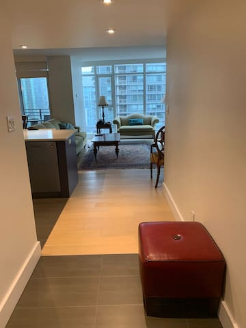 Downtown Vancouver high end 2bd, 2bth, 1den