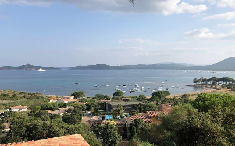 Villa 7 couchages Front de Mer avec Belle Vue