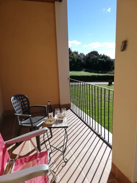 Tranquil apartament jardin a banlieu de Berga