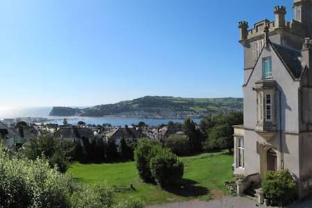 Gothic folly with outstanding sea views - Teignmouth - Slott