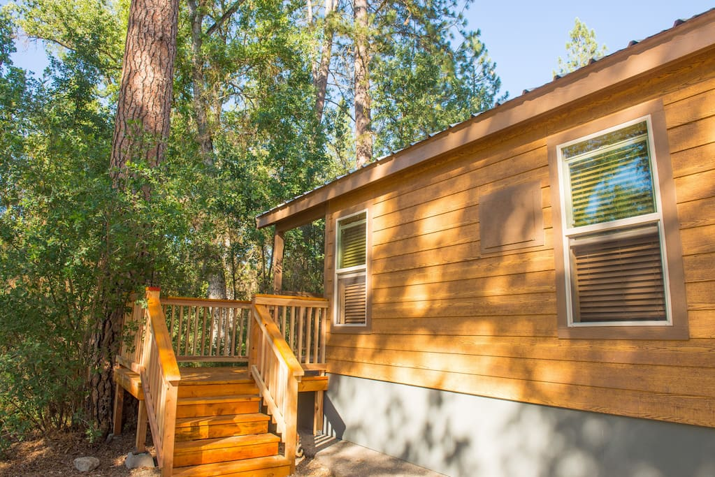 New Yosemite Tiny House 4 Cabins For Rent In Ahwahnee