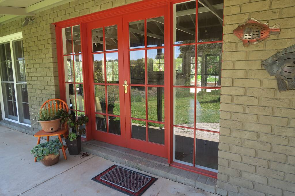 Verandahs all round and windows galore!
