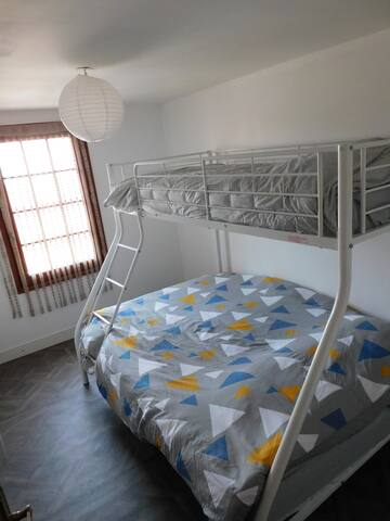 Chambre 2 pour 3 personnes