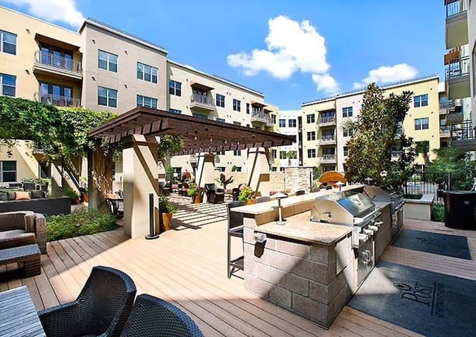 Luxurious Med-Center/Downtown/Midtown Apartment - Houston - Apartament