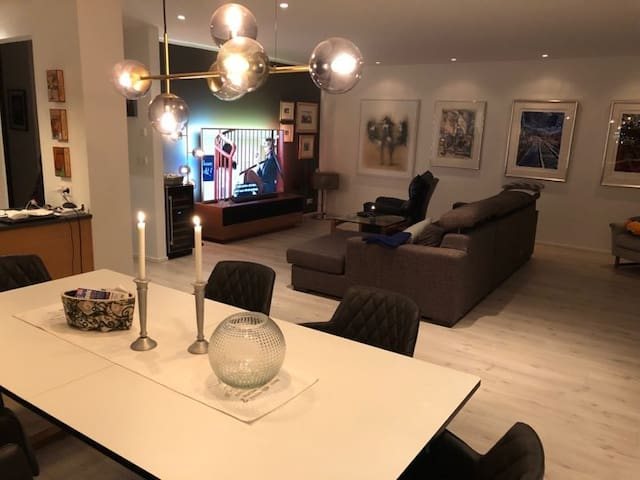 Great new apartment with a view and more