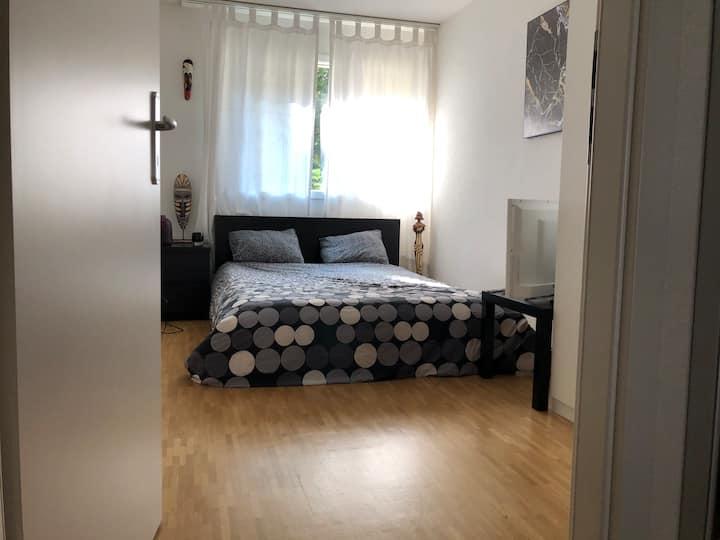 Chambre idéale dans  grand appartement