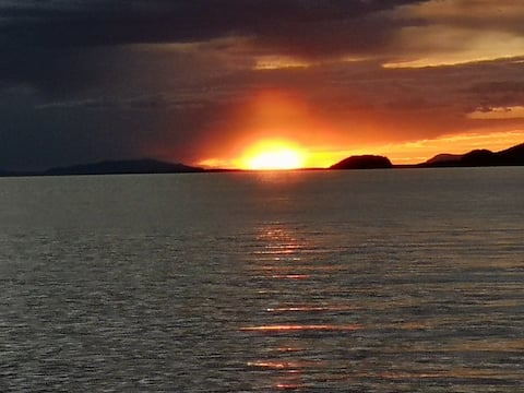 Amazing sunsets from your private deck
