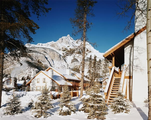 Banff resort 2 bdrm condo up to 6 people Feb 11-12 - Banff - Andre