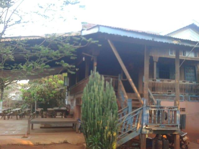 Khmer Homestay.  True Khmer Life. - Krong Ban Lung - Casa