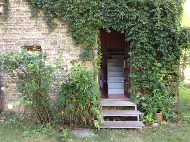 Ferienwohnung auf Vierseitenhof, - Baruth/Mark - Huis
