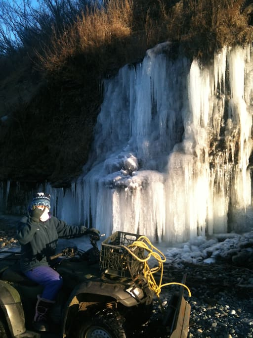 4 wheelers all year and snow machining during winter months