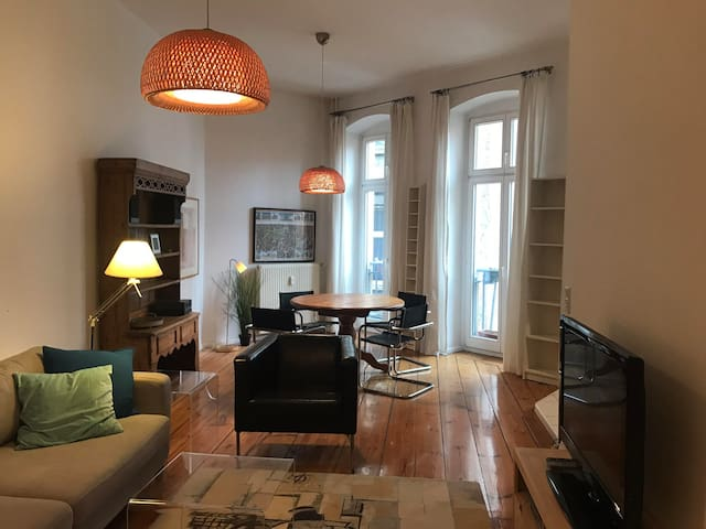 70sq apartment in heart of Prenzlauer Berg