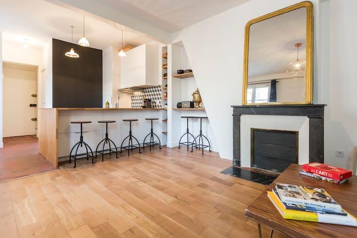 2-room cosy newly designed luxury flat - 巴黎 - 公寓
