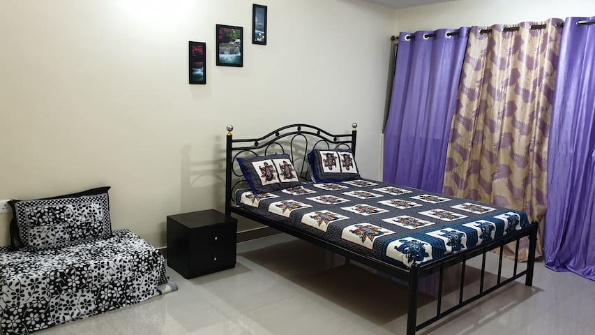 Room 3 - With attached bathroom and AC
