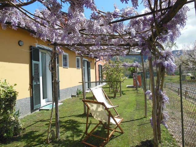 Bilocale nel verde vicino al mare - Villanova d'Albenga - Apartamento