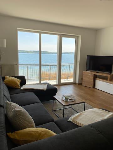 Traumhafter Blick auf den Plauer See