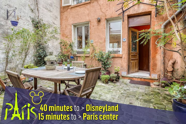 House classified 1 star 56M2/15mn Paris center