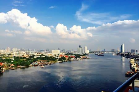 RiverfrontSuite#3 60sqm+PS3+Netflix - Bangkok - Wohnung